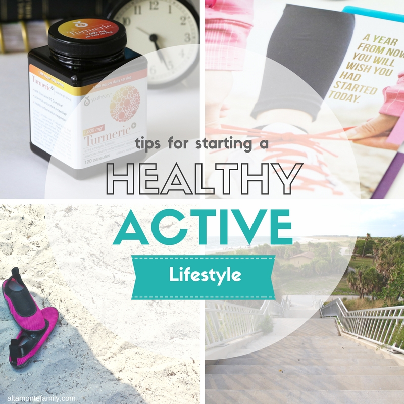 Starting A Healthy Active Lifestyle - Tips and Tools