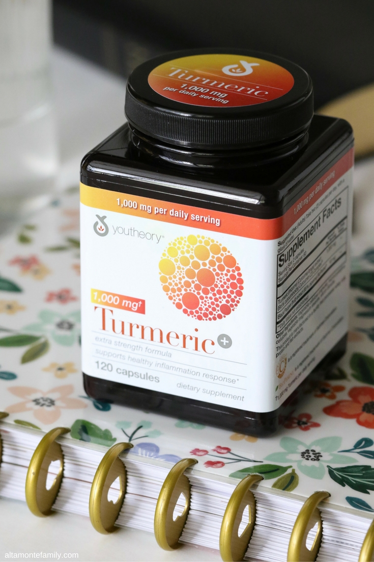 Turmeric Supplements with Black Pepper Extract