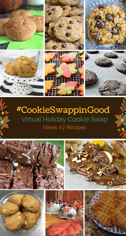 #CookieSwappinGood Week 2 Holiday Cookie Recipe Ideas - Virtual Cookie Swap