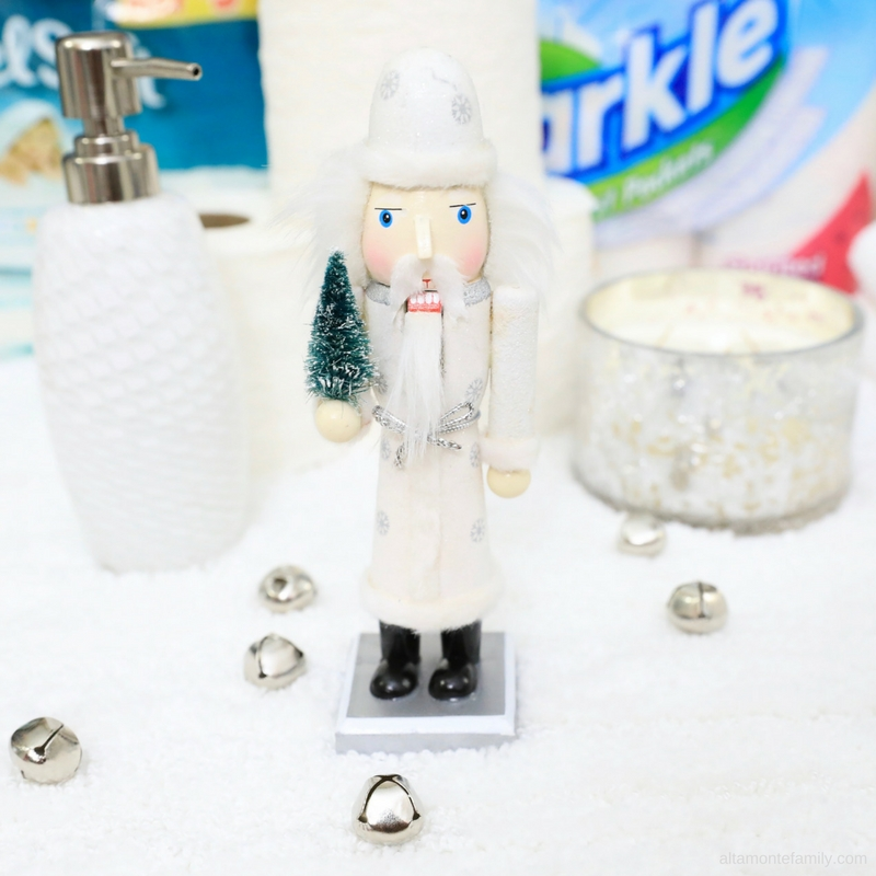 Bathroom Decorating Ideas - Holidays Nutcracker Theme