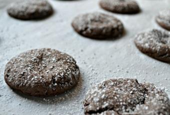 Chocolate Caramel Candy Cake Mix Cookies