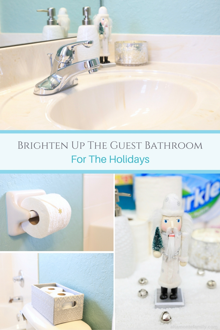 Tips for Decorating the Guest Bathroom For the Holidays