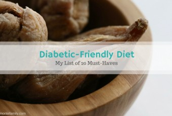 My Diabetic-Friendly Diet Must-Haves