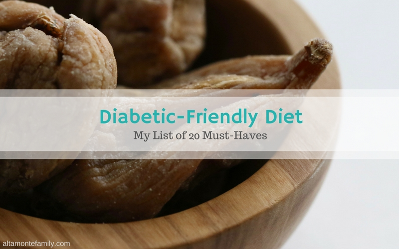 My Diabetic-Friendly Diet Must Haves - Essentials