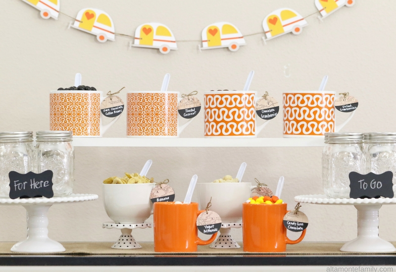Glamping Party Food and Decor Ideas