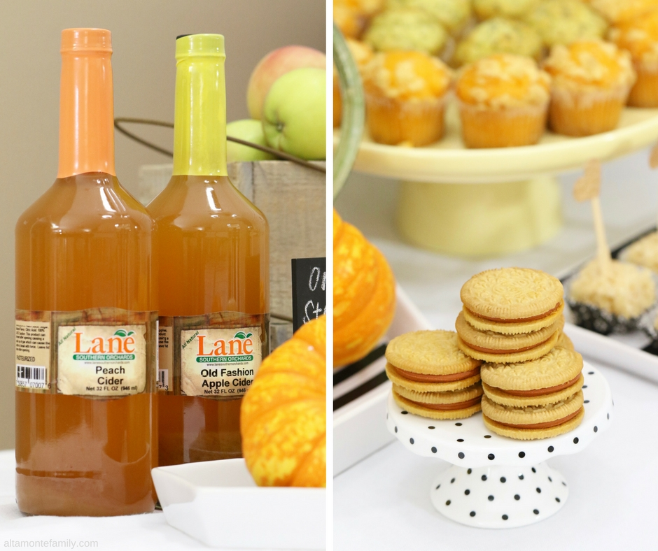 Glamping Party Food Ideas and Southern Lane Orchards Peach Cider