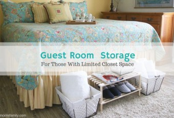 Easy Guest Room Storage Solutions