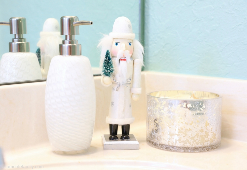 Holiday Decorating Tips For The Guest Bathroom - Nutcracker Theme