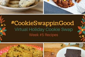 #CookieSwappinGood Week 5 Holiday Cookie Recipe Ideas - Virtual Cookie Swap