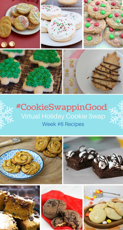 #CookieSwappinGood Week 6 Holiday Cookie Recipe Ideas - Virtual Cookie Swap