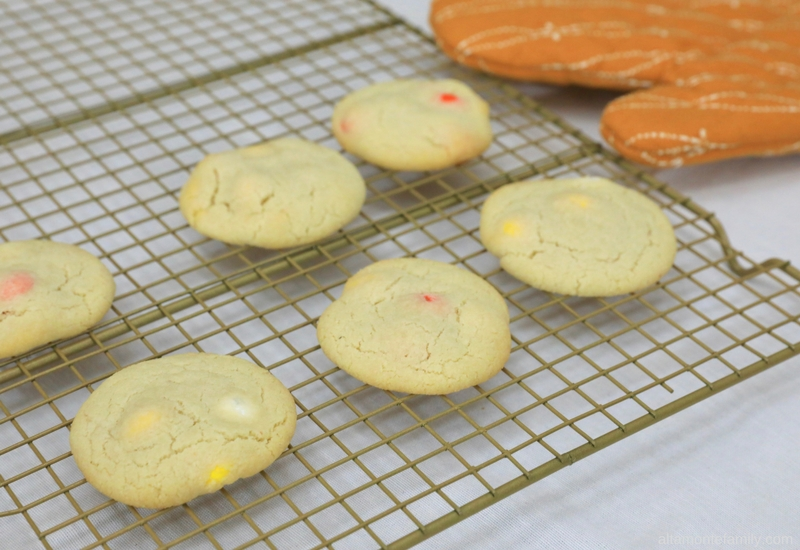 Almond Flour Shortbread Candy Corn Cookie Recipe - Gluten-Free