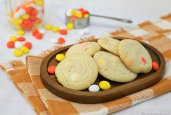 Almond Flour Shortbread Candy Corn Cookies {Gluten-Free}