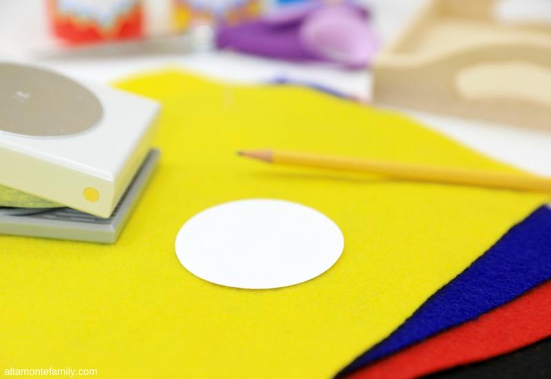 Craft Ideas for Sick Kids - DIY Angry Bird Finger Puppet
