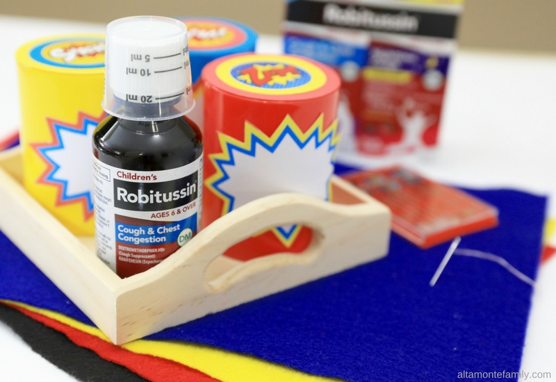 Creative Ways To Get Kids To Take Medicine With DIY Superhero Finger Puppets