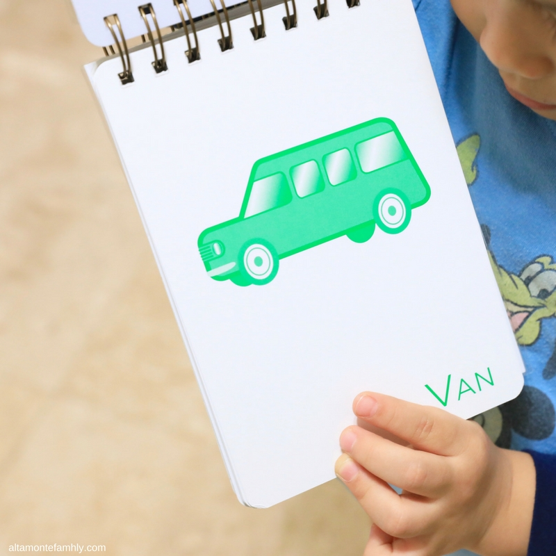 DIY Alphabet Book Using Flash Cards and The Cinch By We R Memory Keepers