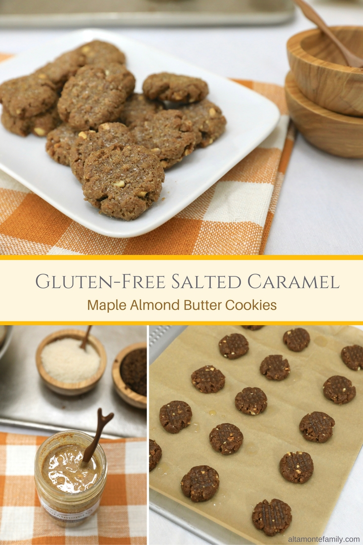 Gluen Free Almond Butter Cookie Recipe #CookieSwappinGood 2016