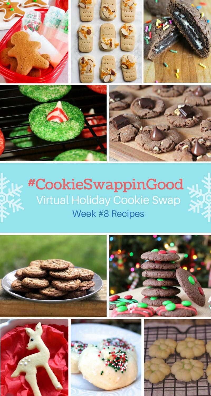#CookieSwappinGood Week 8 Holiday Cookie Recipe Ideas - Virtual Cookie Swap