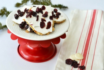 Cranberry Bliss Toffee