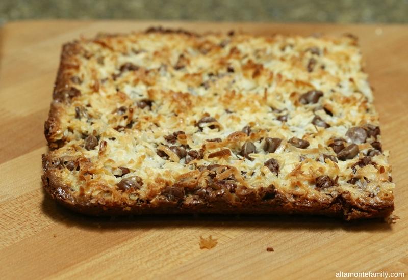 Easy Magic Cookie Bars Recipe