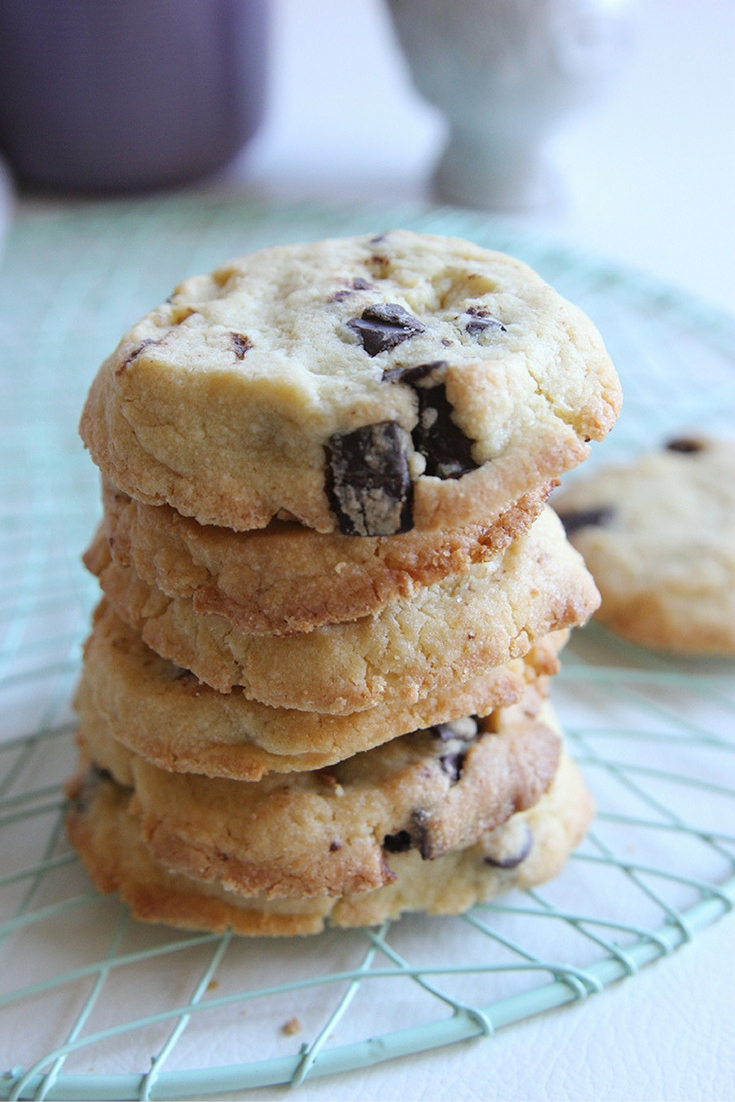 Espresso Chocolate Chip Cookies Recipe By Brunch 'N Bites for #CookieSwappinGood 2016