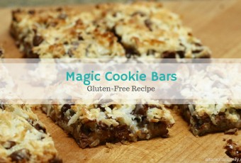 Easy Magic Cookie Bars {Gluten-Free}