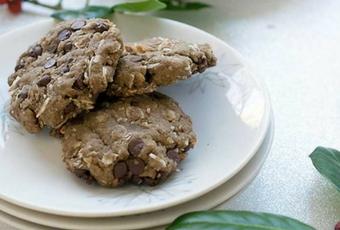 Gluten-Free Vegan Chocolate Chip Pecan Cookies