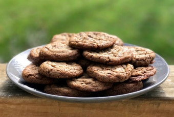 Graham Chocolate Chip Cookies