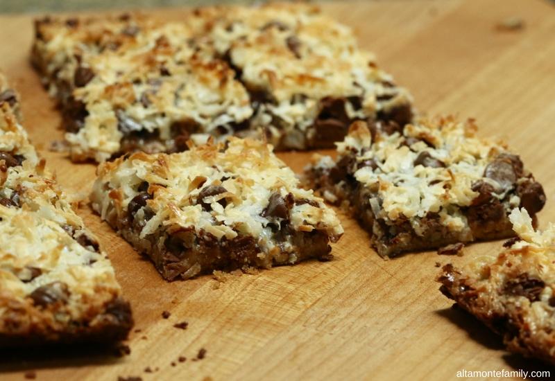 Magic Cookie Bar Recipe - Super Easy