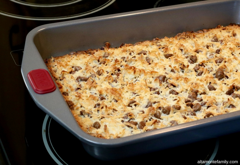 Magic Cookie Bar Recipe Instructions