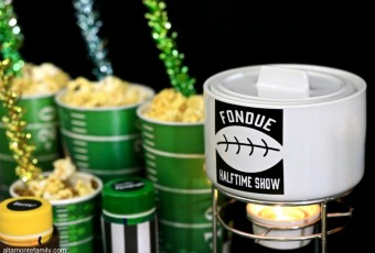 DIY Game Day Fondue Pot