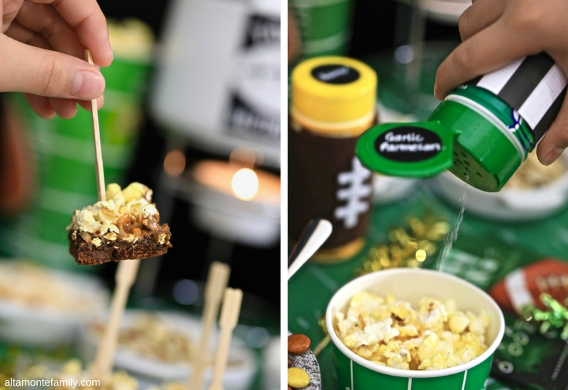 Game Day Popcorn Party Stadium Ideas and Recipe
