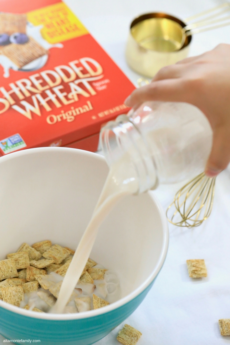 Shredded Wheat Cereal Waffle Recipe With Honey