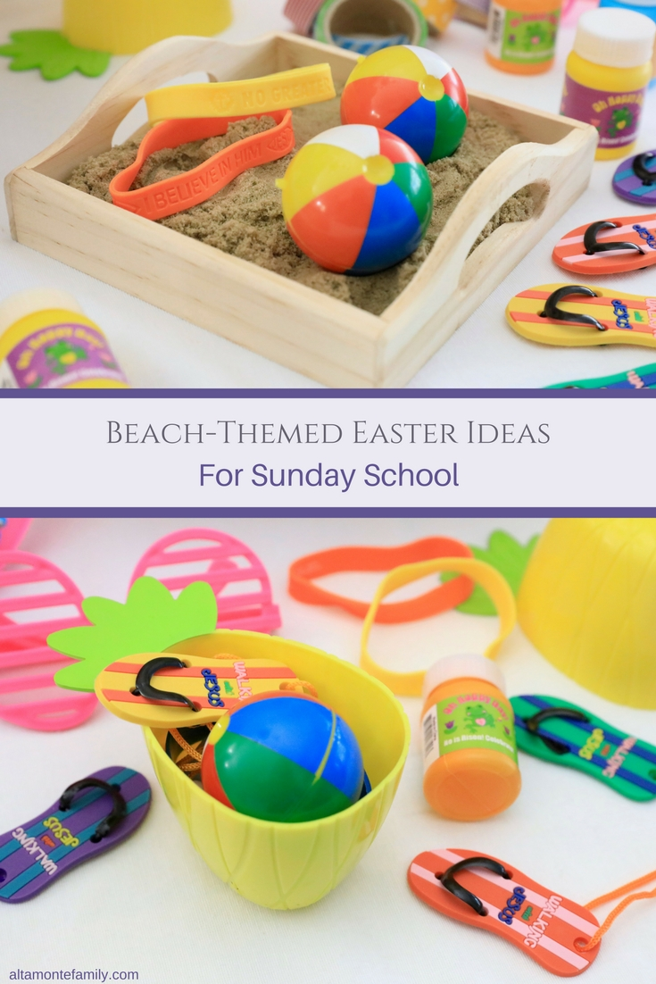 Beach Themed Easter Ideas For Sunday School Children's Ministry