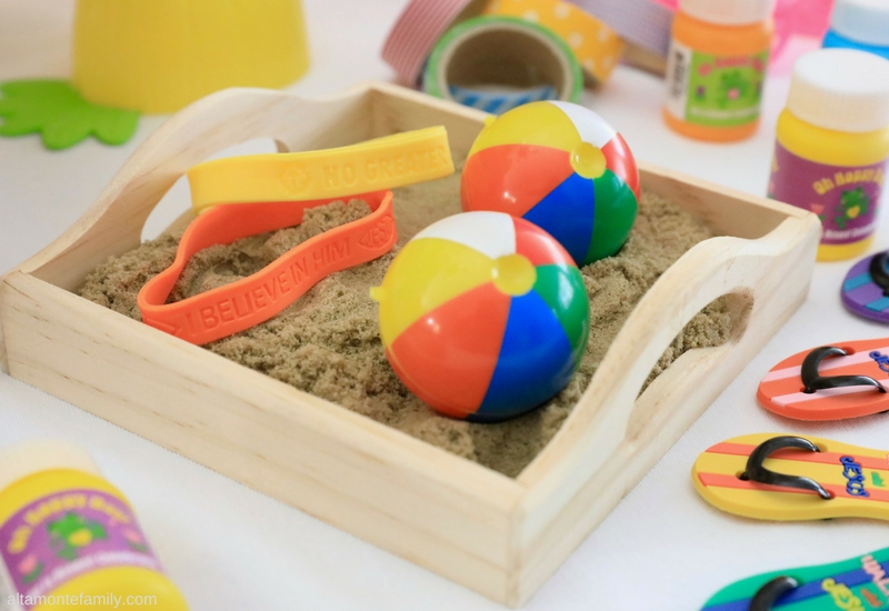 Easter Beach Themed Activities and Ideas for Sunday School Kids
