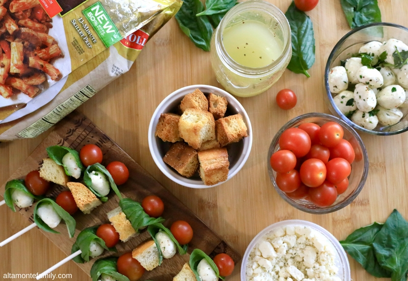 Panzanella Skewers Recipe and Family Night Dinner Ideas For Adventure Loving Family