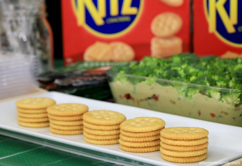 Game Day Food and Party Ideas - Broccoli Hummus Dip Recipe