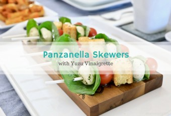 Panzanella Skewers + Family Night Ideas For The Adventure-Loving Family