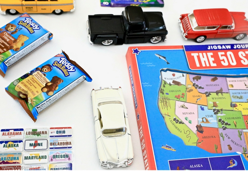 Road Trip Boredom Busters and Snacks For Young Kids