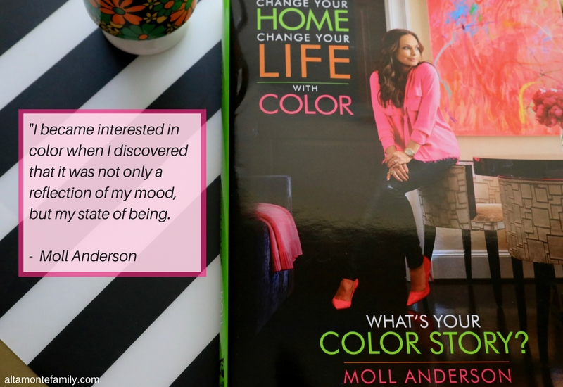 Change Your Home Change Your Life With Color - Moll Anderson - Book Review