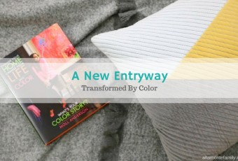 Transforming The Entryway With Color In Less Than A Day