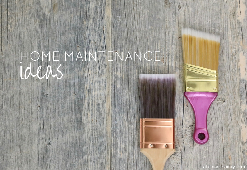 Home Maintenance Project Ideas - Spring Time - Reinvesting Your Tax Return