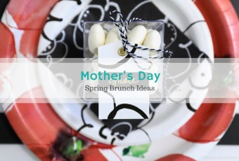 Mother's Day / Spring Brunch Ideas + 2 Easy DIY Projects
