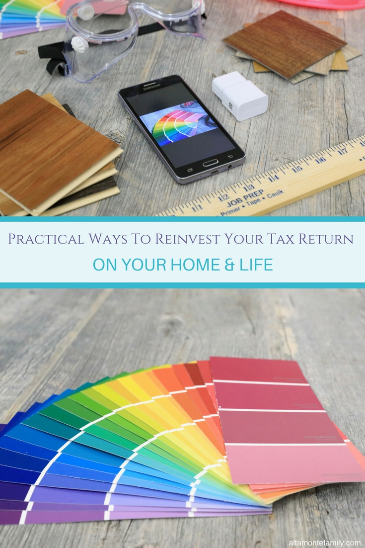Practical Ways To Reinvest Your Tax Return On Your Home & Life - Home Maintenance Projects