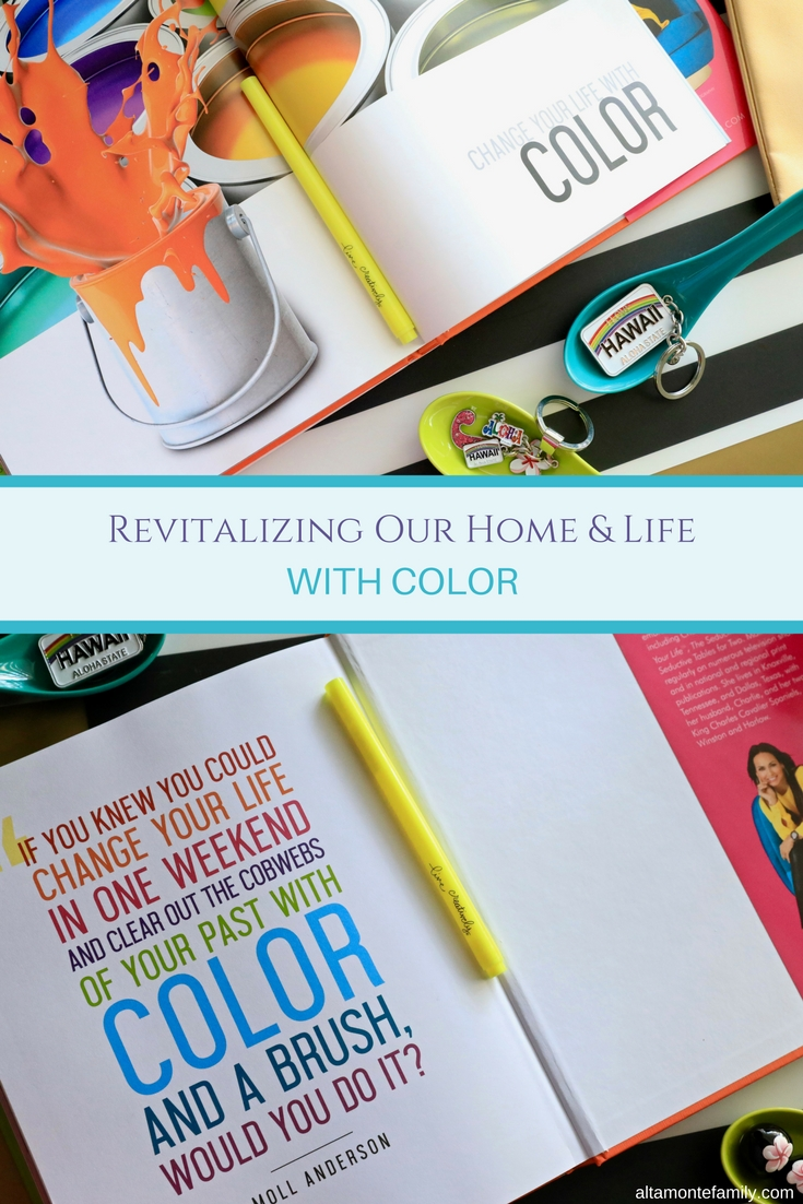 "Finding inspiration in Moll Anderson's new book, ""Change Your Home, Change Your Life™ with Color"". What's Your Color Story?"