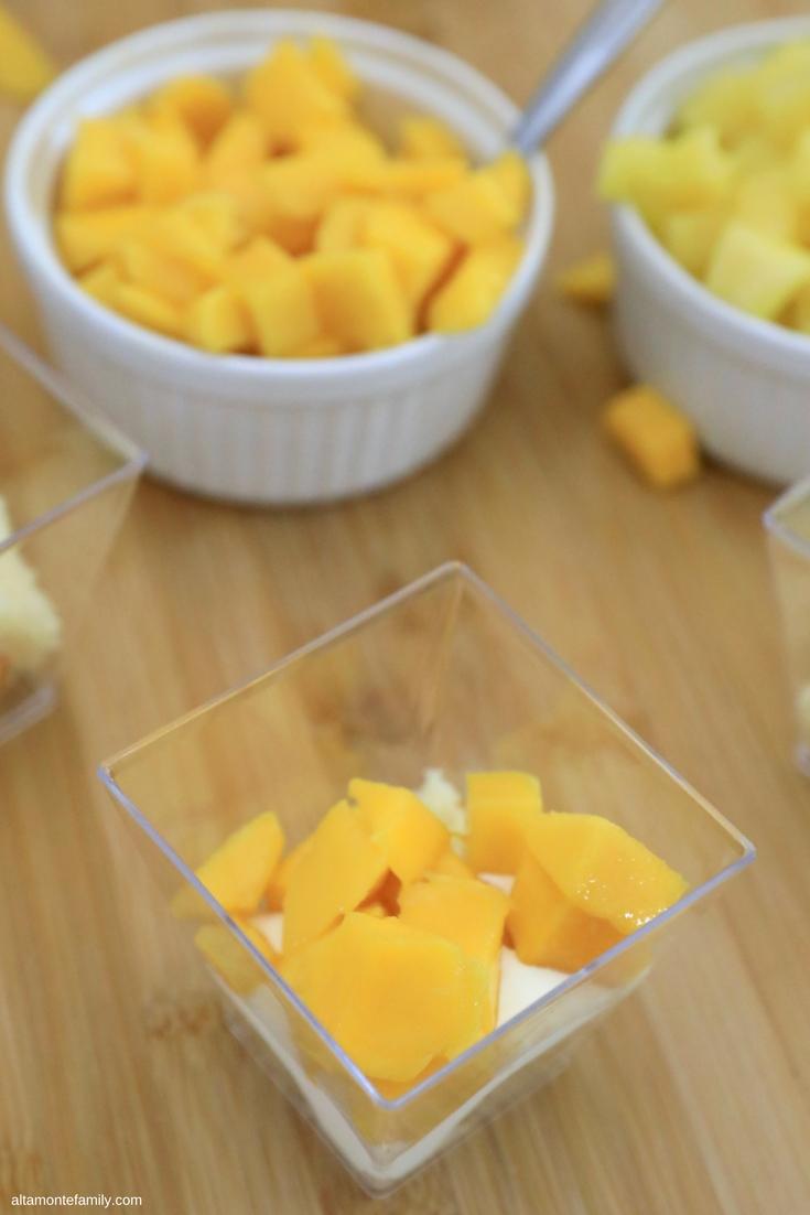 Tropical Fruit Trifle Recipe - Reduced Sugar - Diabetic Friendly