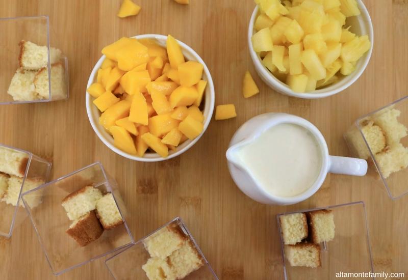 Tropical Fruit Trifle Recipe - Sugar Free - Diabetic Friendly