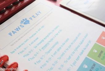 Free Printable Big Happy Planner Pages For Pet Dog Lovers - KJV Devotion