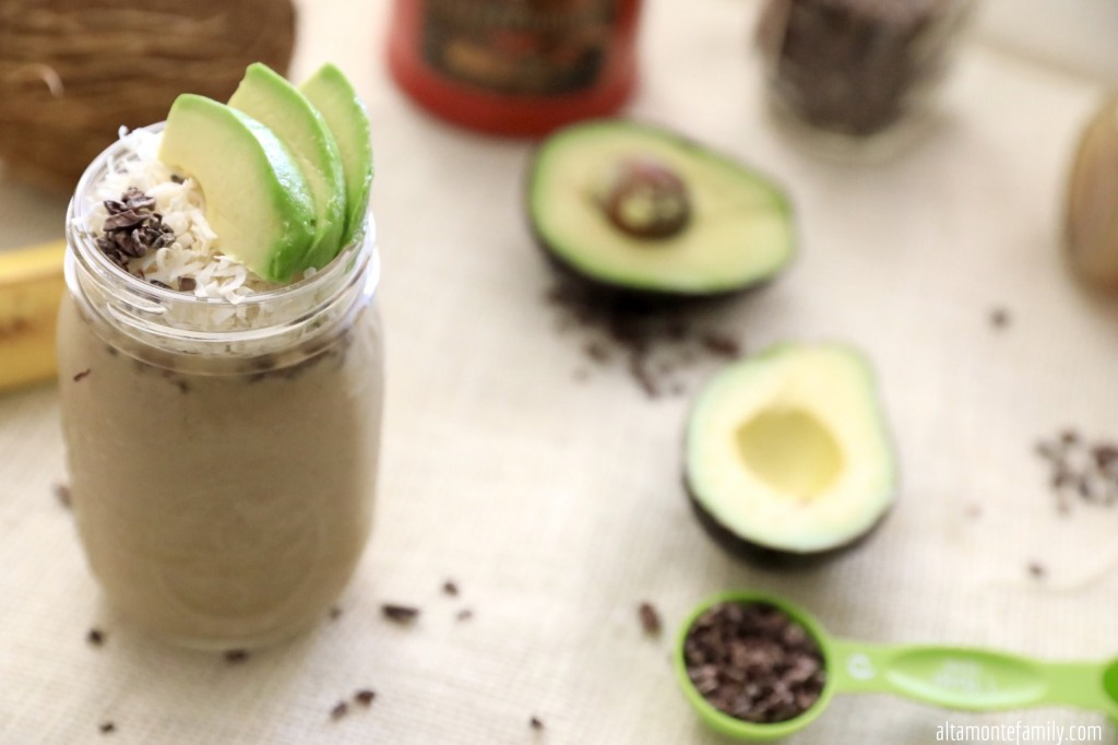 Avocado Coffee Smoothie Recipe - French Press Brew - Diabetic Friendly