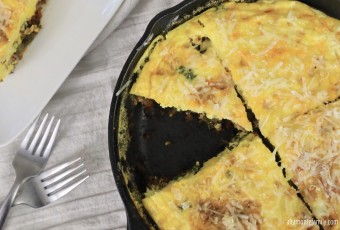 Sausage And Kale Frittata