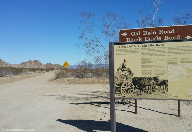 Joshua Tree National Park Old Dale Black Eagle Mine Roads - California Road Trip Ideas